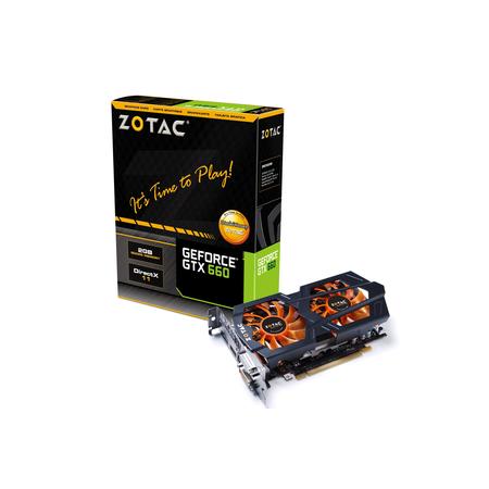 Placa de Video GeForce GTX660 2GB DDR5 192Bits ZT-60901-10M - Zotac