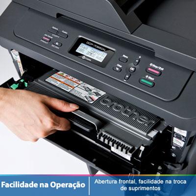 Multifuncional Monocromatica DCP7065DN 110V - Brother