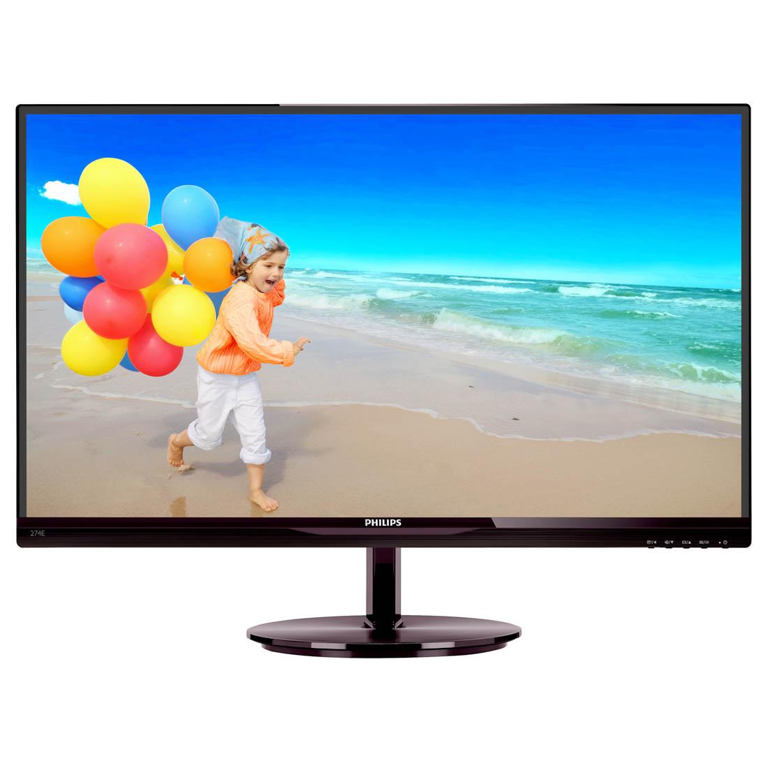 Monitor LCD 21.5, Widescreen, HDMI, HDCP - 224E5QHAB - Philips