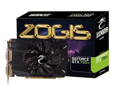 Placa de Video GeForce GTX750TI 2GB DDR5 128Bits ZOGTX750TI-2GD5 - Zogis