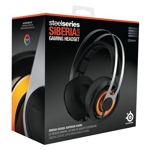 Fone de Ouvido Siberia Elite Preto 7.1 com Microfone USB 51127 - Steelseries