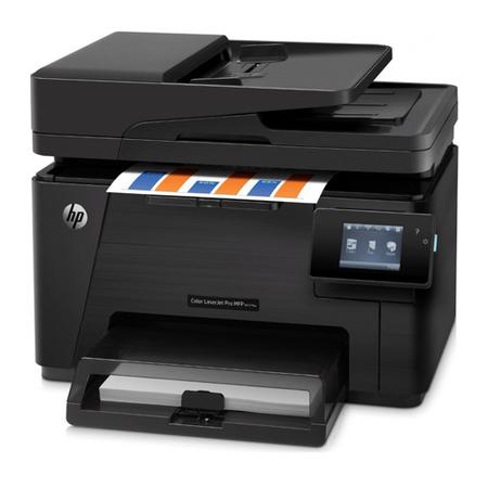Multifuncional Color LaserJet Pro MFP M177fw com Fax CZ165A 127V  - HP