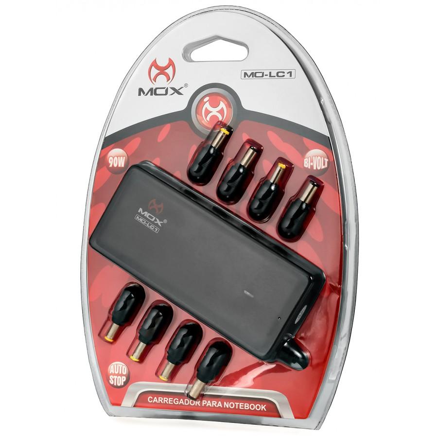 Carregador MO-LC1 para Notebook 8 pinos 90W - MOX