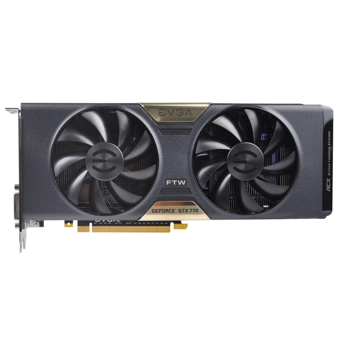Placa de Video GeForce GTX770 4GB DDR5 256Bits FTW Dual ACX 04G-P4-3776-KR - EVGA