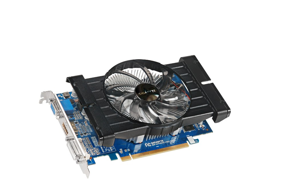Placa de Video ATI HD7750 1GB DDR5 128Bits GV-R775OC-1Gl - Gigabyte