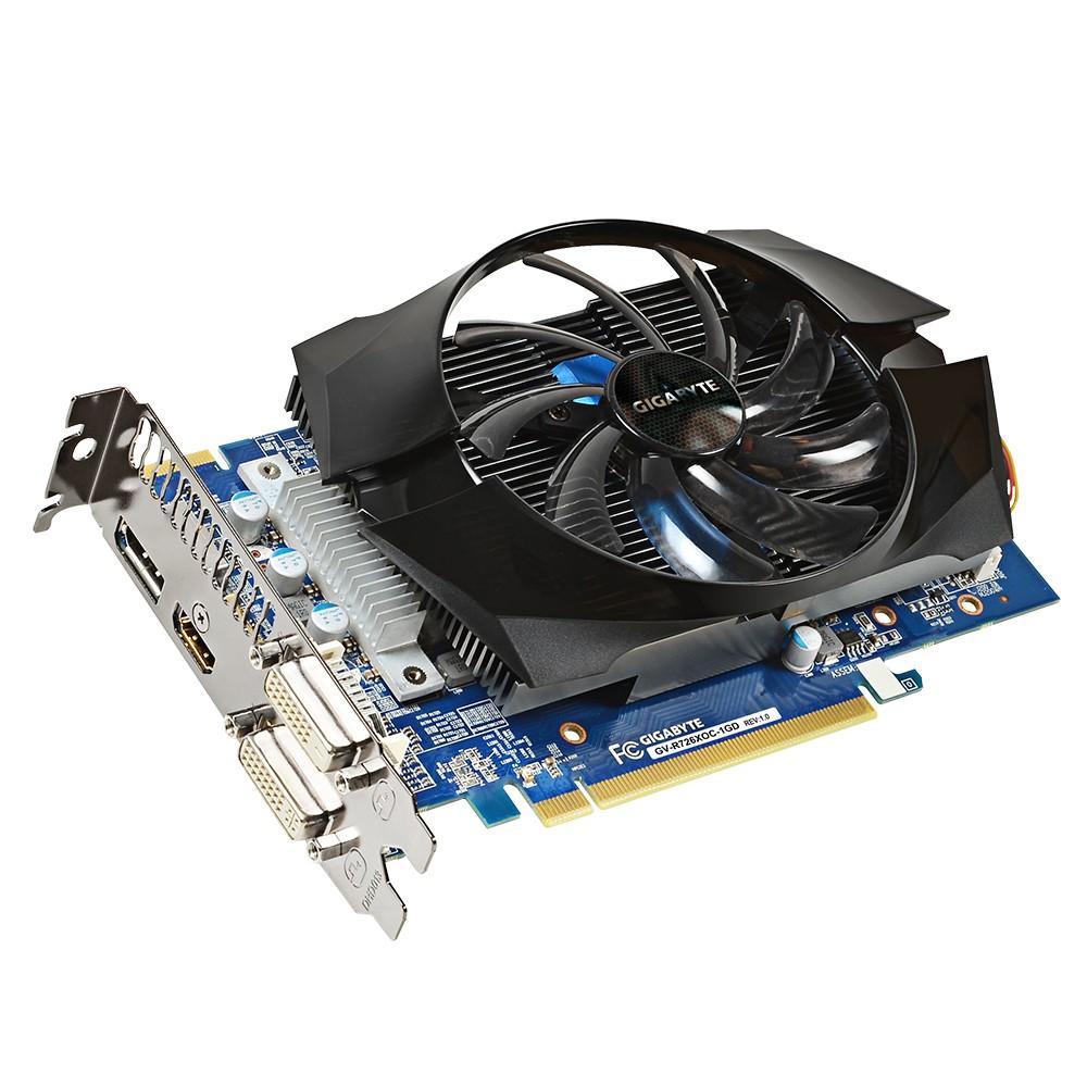 Placa de Video ATI R7 260X 1GB DDR5 128Bits OC Fansink 100mm GV-R726XOC-1GD - Gigabyte
