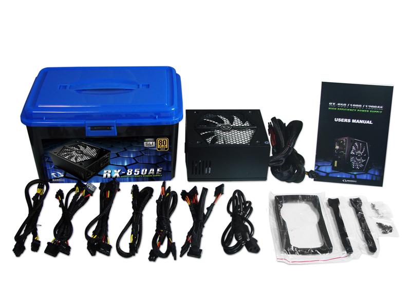 Fonte ATX 850W Modular RX-850AE PFC Ativo 80 Plus Gold - Raidmax