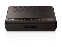 Modem + Roteador Wireless 150Mbps 4 Portas Wan DSL-2730R - D-Link