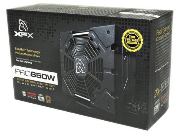 Fonte ATX 650W Core Edition 80 Plus Bronze P1-650S-NLB9 - XFX