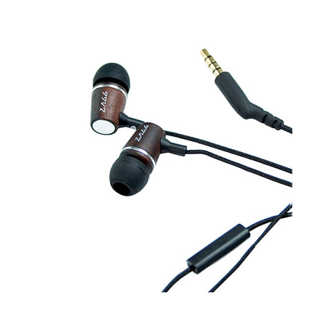 Fone de Ouvido Earbud Wood ES220M ( Microfone e Fone) - Zagg