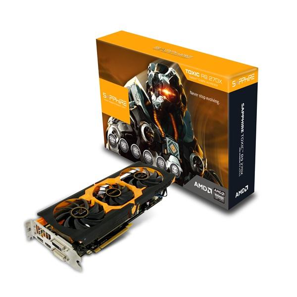 Placa de Video ATI R9 270X 2GB DDR5 Toxic Boost 256Bits 11217-02-40G - Shappire