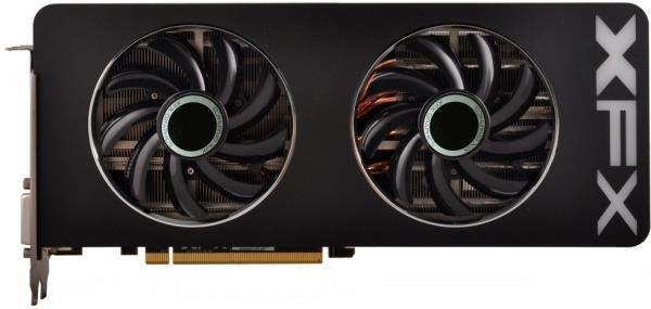 Placa de Video ATI R9 290 4GB DDR5 512Bits Black OC Double Dissipation R9-290A-EDBD - XFX