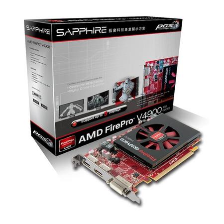 Placa de Video Grafica ATI V4900 1GB DDR5 Firepro 31004-24-41R - Sapphire