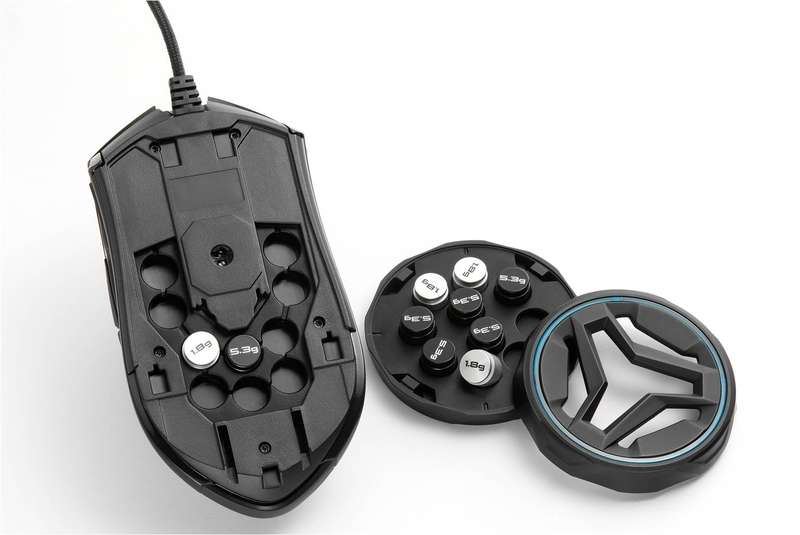 Mouse Gamer AIVIA 8200 DPI Dual Chassis Gaming GM-KRYPTON - Gigabyte