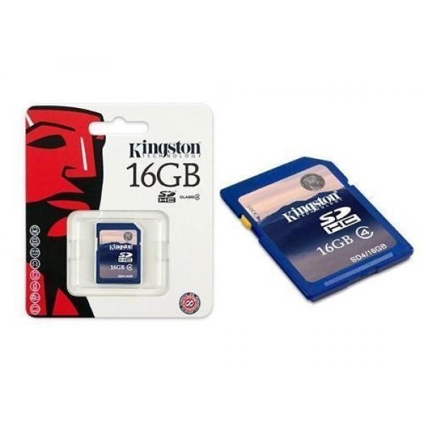 Cartao de Memoria 16GB SDHC Classe 4 Secure Digital SD4/16GB - Kingston