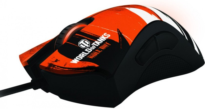 Mouse Deathadder World Of Tanks RZ01-00840400-R3M1 - Razer