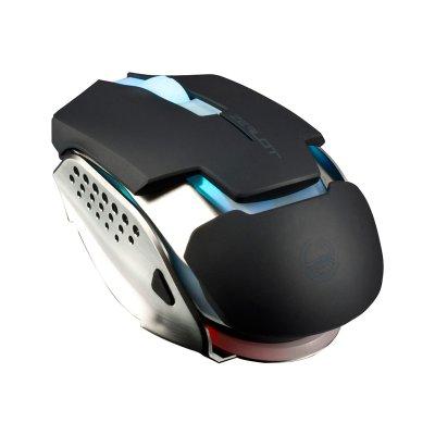 Mouse Gamer Optico Zealot 5000DPI USB Preto - TEAM SCORPION