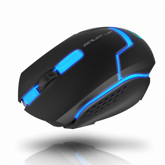 Mouse Gamer Optico Zealot JR 4000DPI USB XMS004-R - TEAM SCORPION
