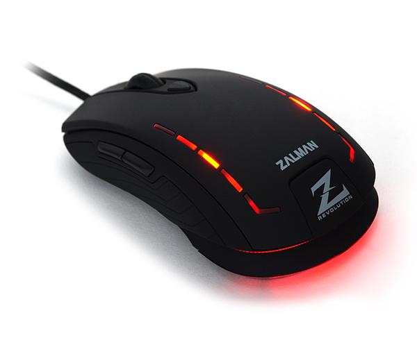 Mouse Gamer USB 2500DPI ZM-M401R - Zalman