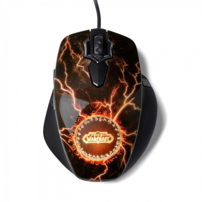Mouse Gamer WOW MMO Legendary Edition 62050 - Steelseries