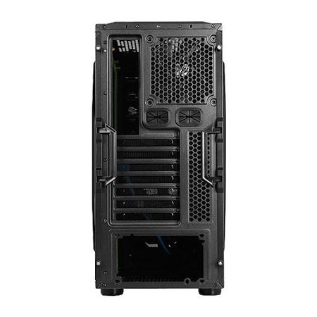 Gabinete ATX Gamer Cobra 502WBG s/ Fonte Preto 18652 - Raidmax