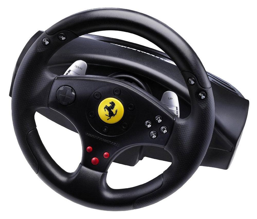 Volante Gamer Ferrari GT Experience Racing Whell Para PS3 - Thrustmaster
