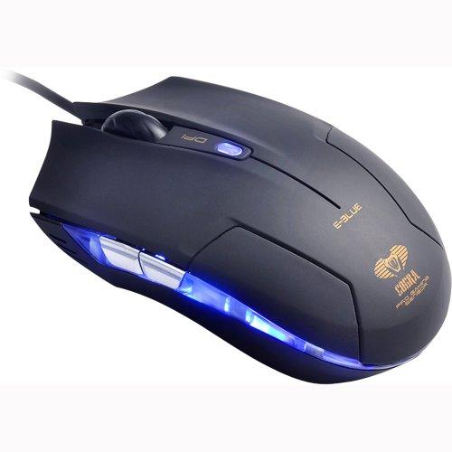 Mouse Gamer Optico Cobra Type-M 1600DPI USB Preto 52186 - E-BLUE