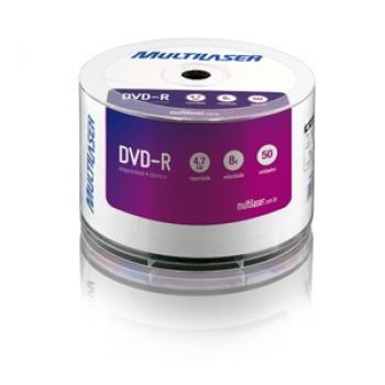 Midia  DVD-R 4.7GB Imprimivel Branco DV052