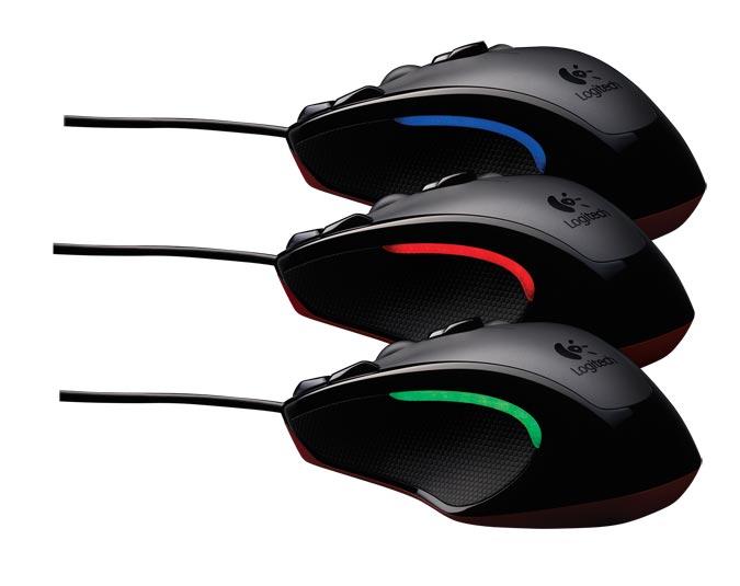 Mouse Gamer Optico USB G300 910-002358 - Logitech