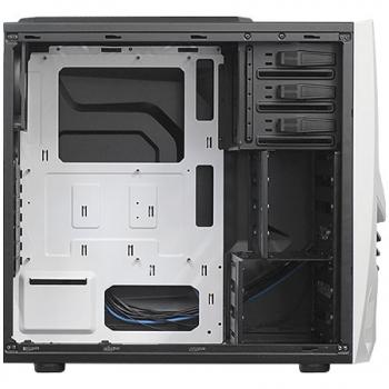 Gabinete ATX Gamer Cobra 502WWW S/Fonte Preto/Branco - Raidmax