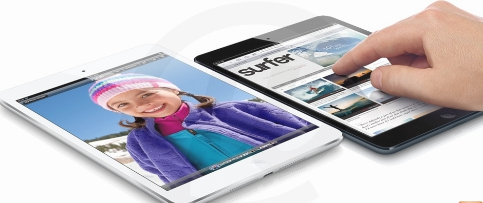 iPad mini 64GB 3G e Wi-Fi Branco MD539BR/A - Apple