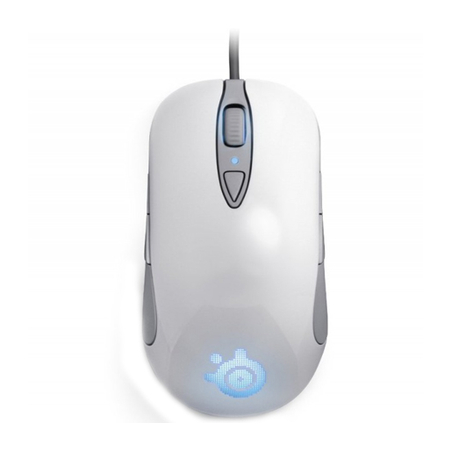Mouse Gamer Laser Sensei RAW Edicao Limitada Frost Blue (8 Botões) 62159 - Steelseries