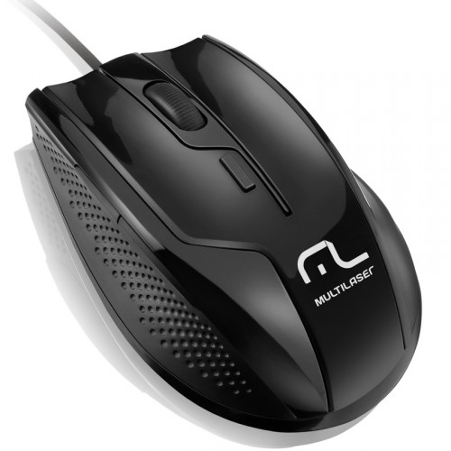 Mouse Gamer Professional Rapid 6 Botoes 1600Dpi Black Piano MO164 - Multilaser