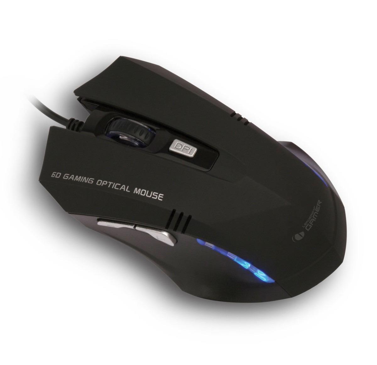Mouse Gamer Tiger USB Preto 6868 - Leadership