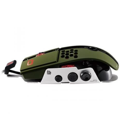 Mouse Gamer TT Sports Level 10M Militar Verde MO-LTM009DTK - Thermaltake