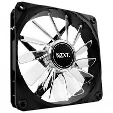 Cooler para Gabinete 120mm com LED Branco FAN-NT-FZ-120-W - NZXT