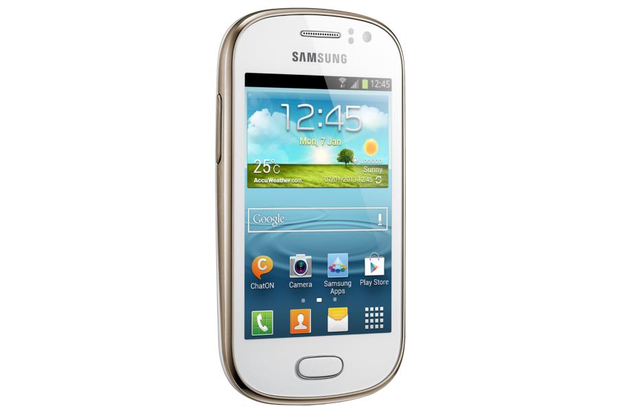 Smartphone Galaxy Fame Duos GT-S6812B Branco - Samsung