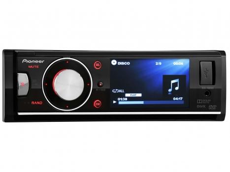 DVD Automotivo DVH-7680AV Tela 3 Entrada Auxiliar e USB - Pioneer