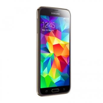 Smartphone Galaxy S5 com Android 4.4, Quad Core 2.5 Ghz e Câmera de 16 MP com Flash Dourado LED SM-G900M - Samsung