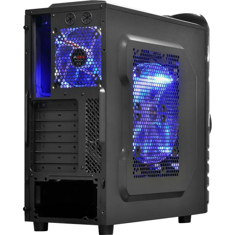 Gabinete ATX Gamer WOLF com Lareral em Acrílico 21490 - Pcyes