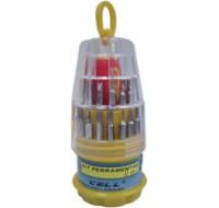 Kit de Ferramentas Intercambiaveis 31x1 - X-Cell