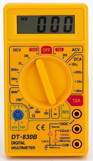 Multimetro Digital DT-830 B - OEM