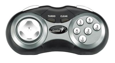 Joypad MaxFire Pandora USB Preto 8 Botões com Turbo - Genius