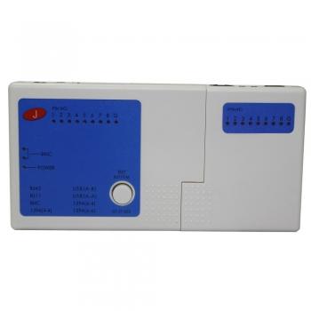 Testador Multifuncional P/Cabos de Rede RJ45/RJ11/BNC/USB 1394 TT2