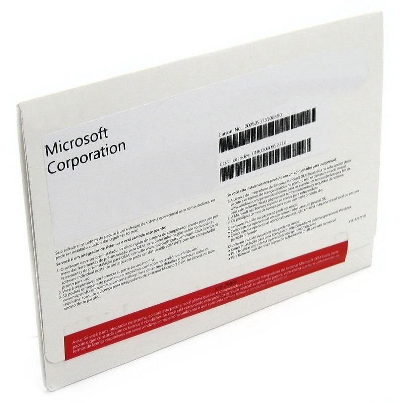 Sistema Operacional Windows 7 Professional SP1x64 OEM 64Bits (FQC-08286) - Microsoft