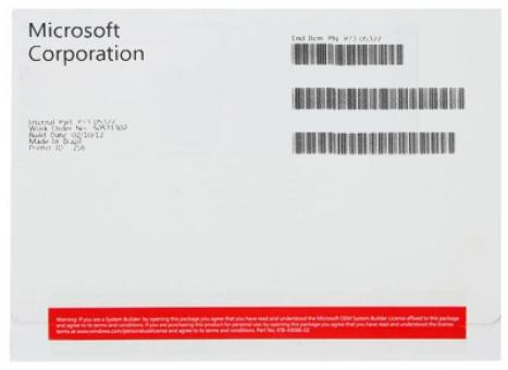 Windows 8 32Bits Profissional FQC-05910 OEM - Microsoft
