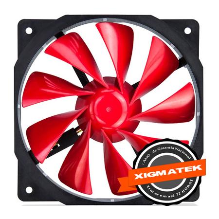 Cooler XOF-F1254 ColorFul Vermelho 120mm CFS-OXGKS-WU4 - Xigmatek