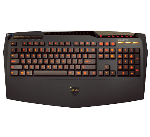 Teclado AIVIA Gaming Ghost Macro GK-K8100 - Gigabyte