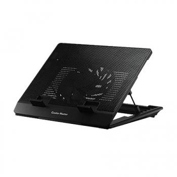 Base Para Notebook Ergostand Lite Preta - 1 FAN 160MM - R9-NBS-ESLK-GP - Coolermaster