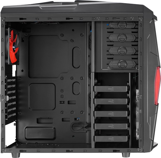 Gabinete ATX Strike-X Xtreme Preto EN52025 - Aerocool